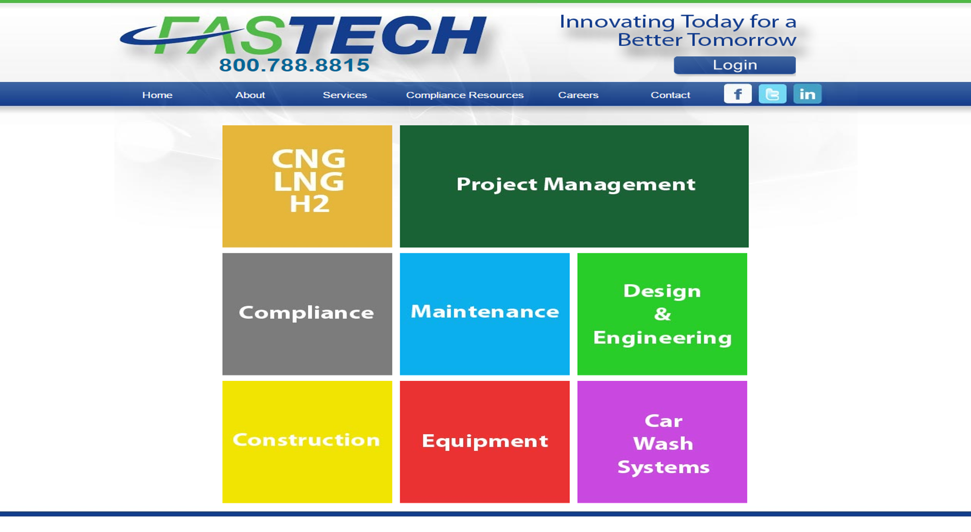 old-fastech-webpage
